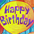 Spongebob Happy Birthday Balloon Icon