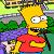 The Simpsons Bart Simpson Springfield Icon