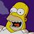 The Simpsons Homer Savor Icon