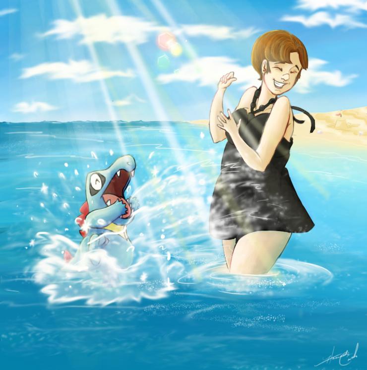 Pokemon Journey: Splish Splash! by Radiant-Lyxill