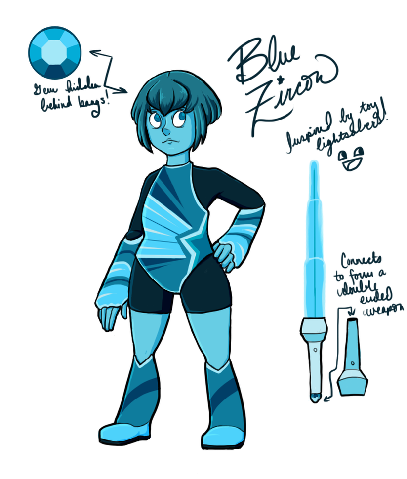 Blue Zircon Gemsona by Radiant-Lyxill