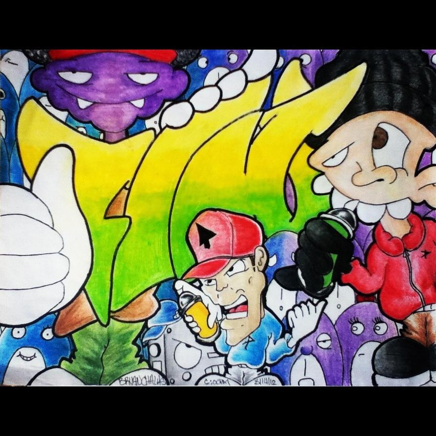 Graffiti: FLAV by BryanChalas