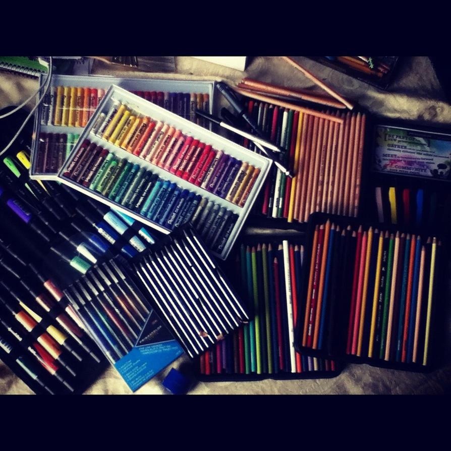 My Art Supplies By Bryanchalas On Deviantart