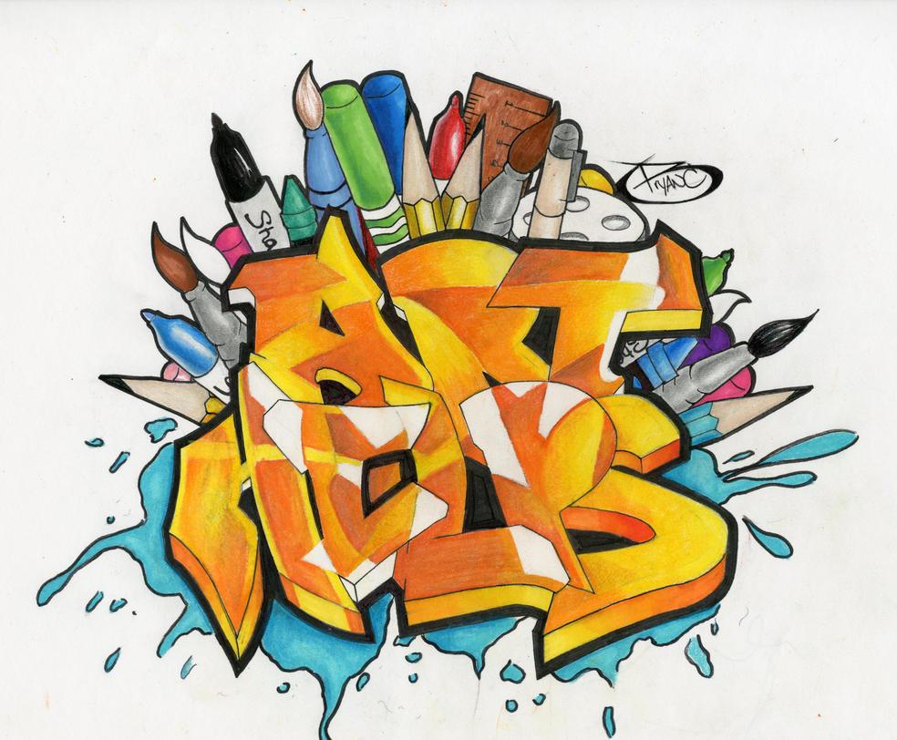 Art helps logo design by BryanChalas
