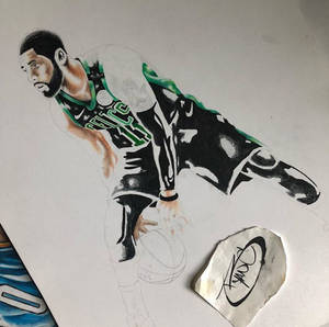 Kyrie Irving Uncle Drew WIP