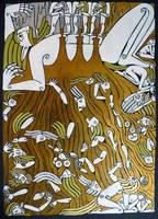 The Death of Ymir by Hellanim