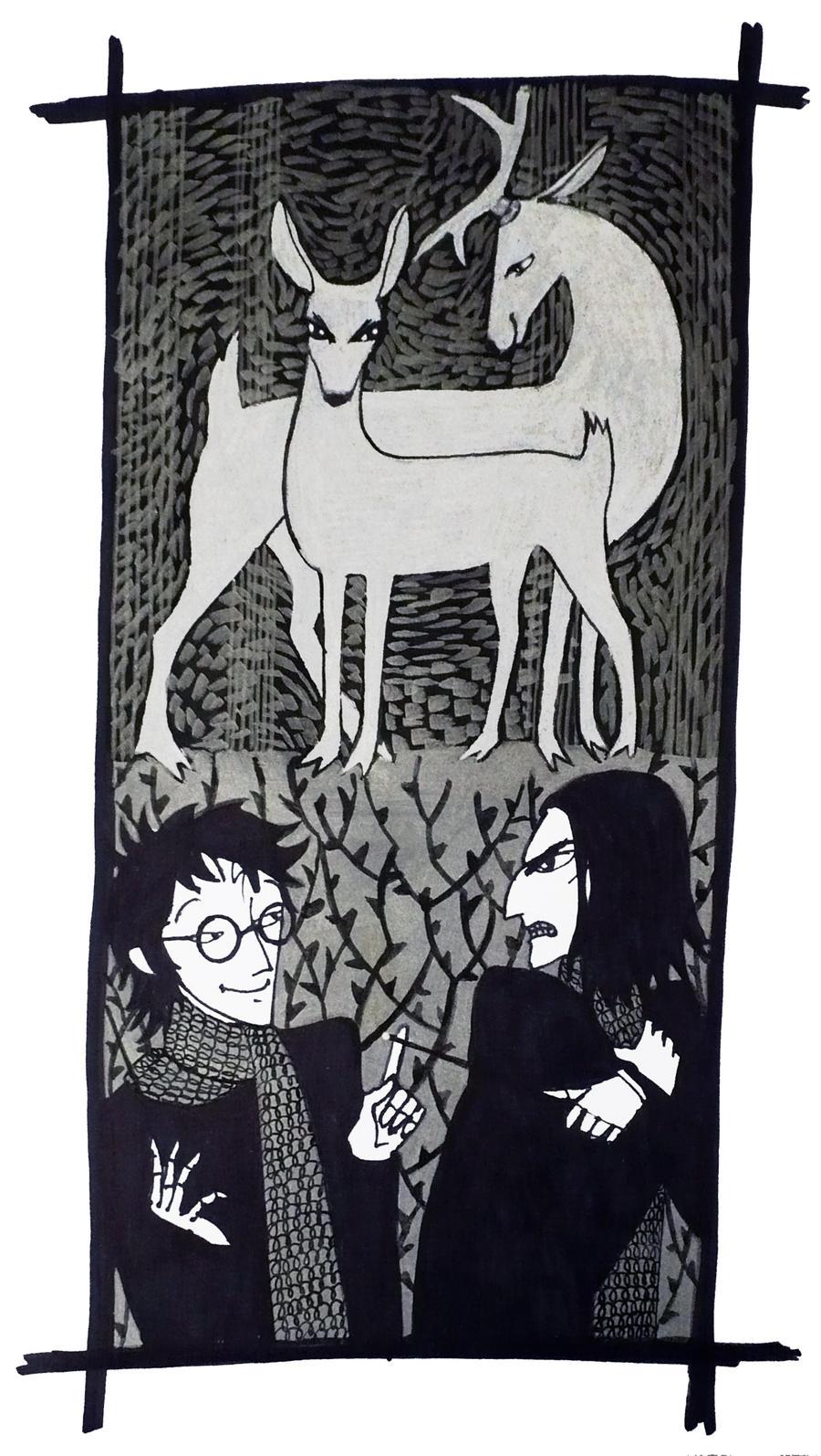 The deer by Hellanim