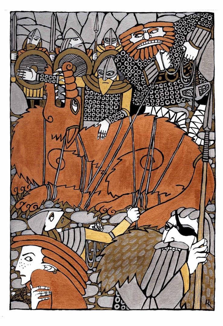 The Binding of Fenrir by Hellanim
