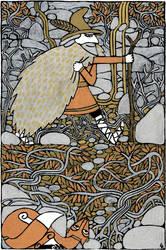 Odin the Wanderer var2 by Hellanim