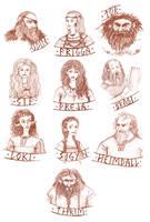 Thrimskvida main characters