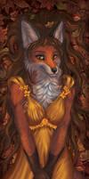 Vixen of golden autumn