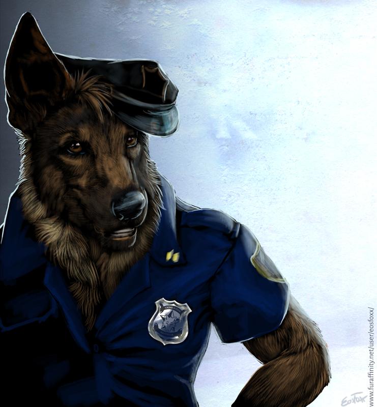 policedog by EosFoxx