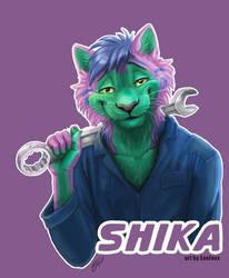 Shika Badge
