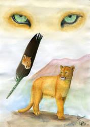 Featherart- Puma by EosFoxx