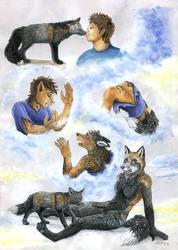 The magical kiss of a fox