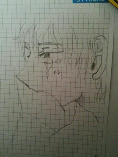 Anime Boy Crying My Draw By Darkshine999 On Deviantart