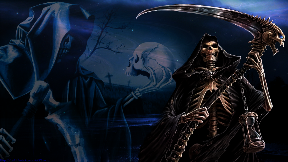 Wall: Grim Reaper by Hizaki-Project