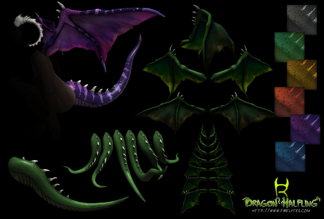 Dragon Halfling (Second Life) by bugtrot