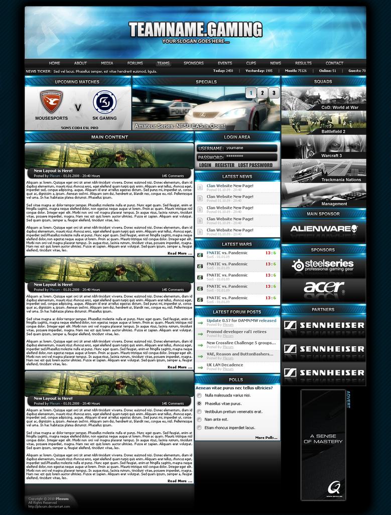 eSports Design For Sale 4 by Plexum