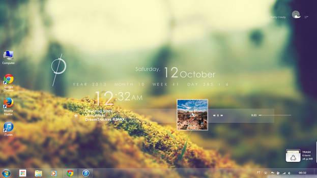 Rainmeter Desktop