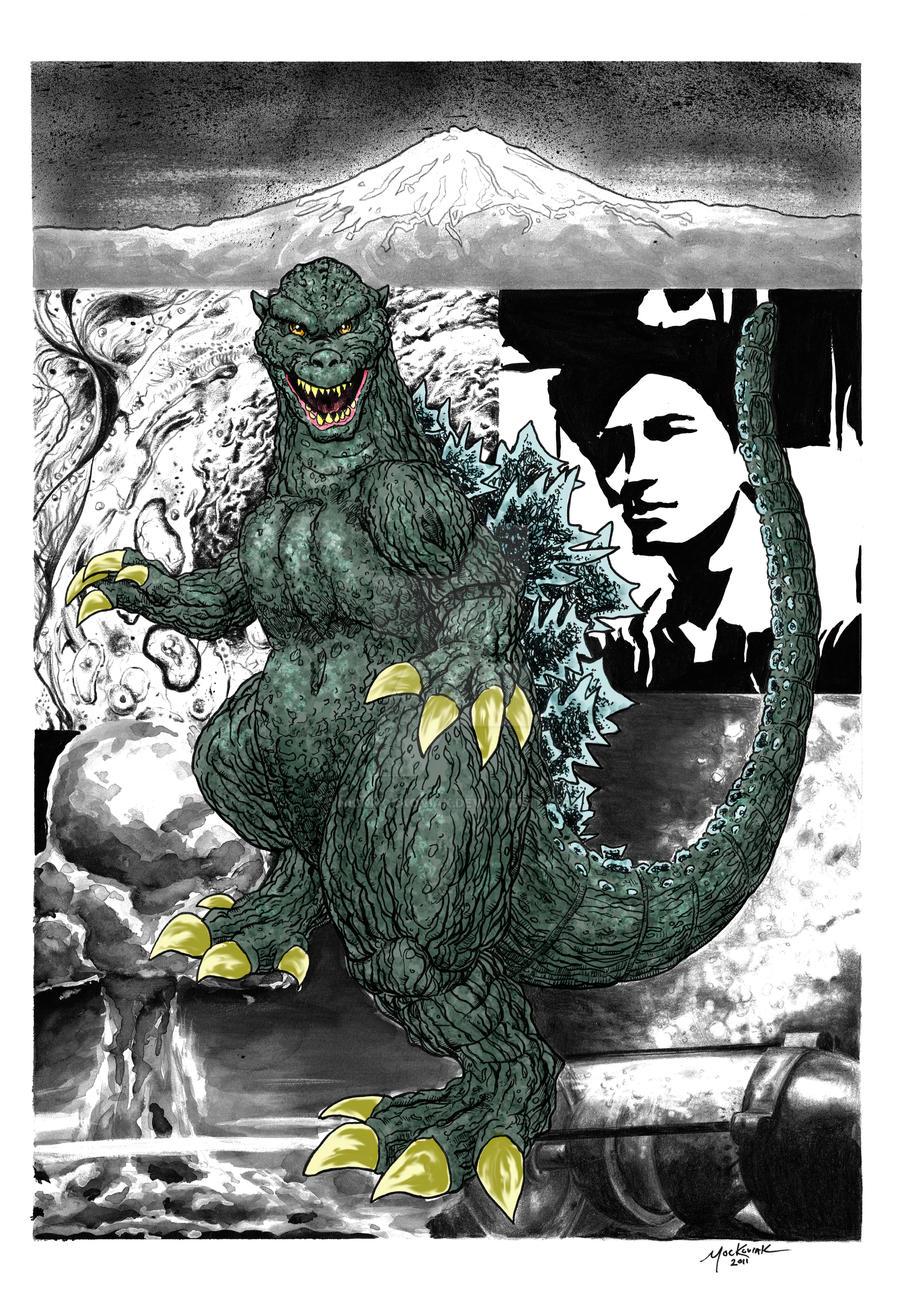 Godzilla Steranko Color by NickMockoviak