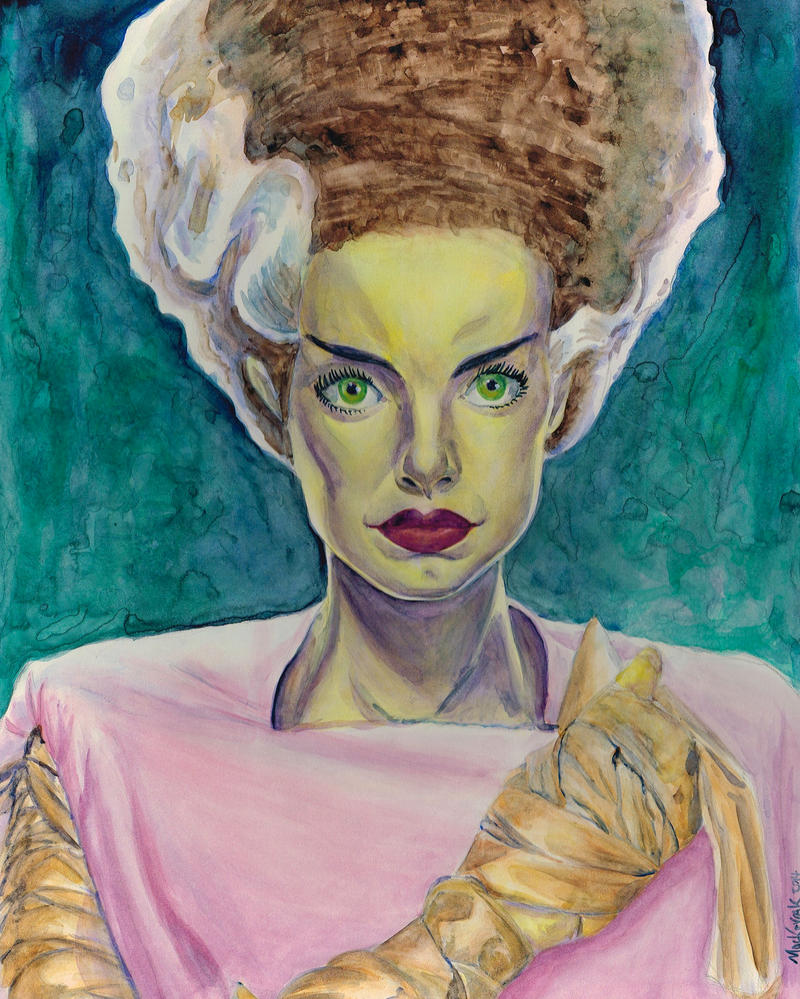 Bride of Frankenstein by NickMockoviak