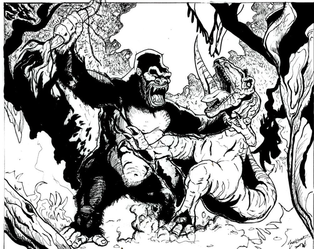 kong king rex deviantart 2005 drawings