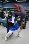 ECCC - Mojo JoJo vs Spiderman