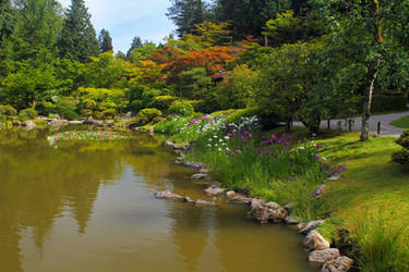 Seattle Japanese Gardens by oOBrieOo
