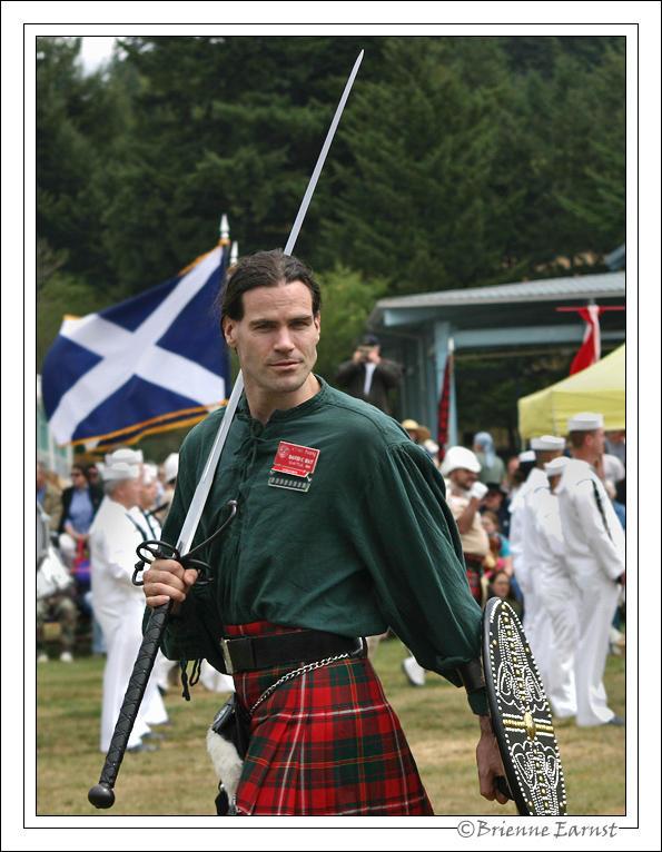 Brave Scottish Warrior Costume - Braveheart Costume for Adults