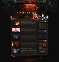 Diablo Game Web Template