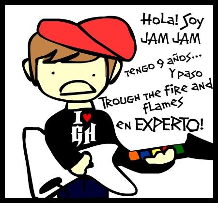 Jam Jam Love Guitar Hero by Horror-Scarred