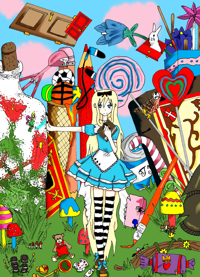 Wonderland by Izumi224