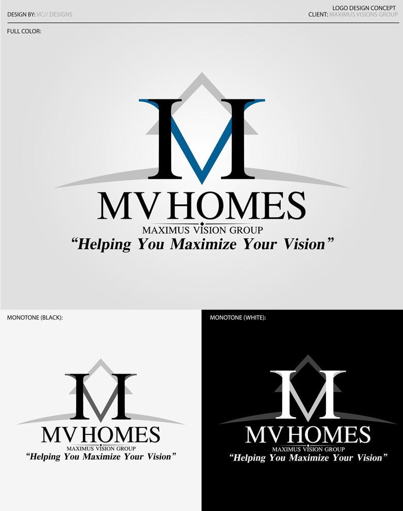 Maximus Vision Homes Logo by vcx-designs