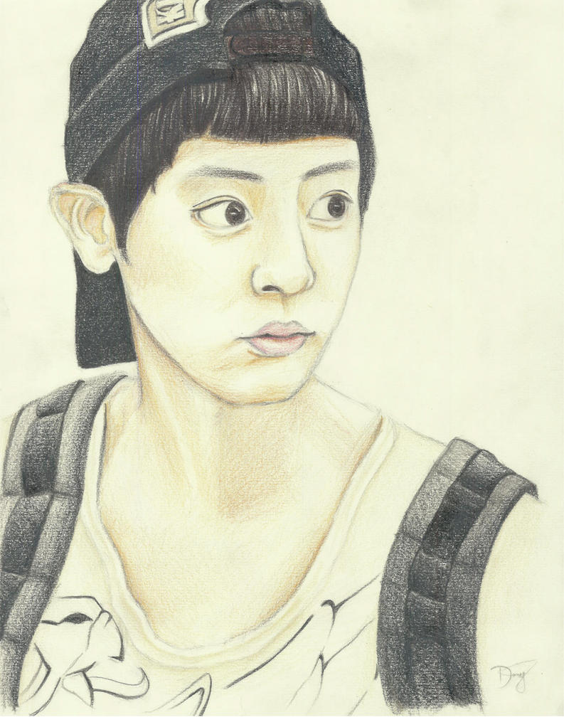 EXO Chanyeol By Jiangel On DeviantArt