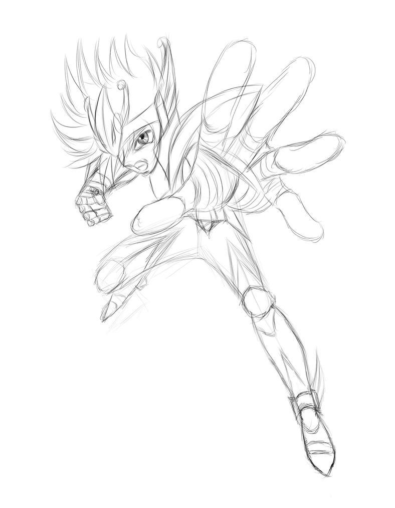 Pegasus no Kouga by anheitianm