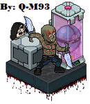 Habbo Drax and Mantis Infinity War (collection) by que-miras93