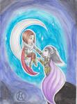 Chibi Izabel and Raelag by H-Maksim