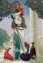 The Goddess (Comm) by Kate-Venom