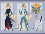 Eastern Dragon (ADOPTABLE AUCTION) OPEN!!! by Kate-Venom