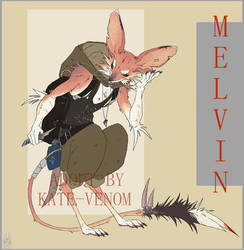 Jerboa Melvin (OFFER TO ADOPT) OPEN!!! by Kate-Venom