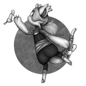 [Griffia ARPG] Style Prompt - Black and White