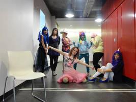 Mane 6 and Princess Luna Cosplay 1 by Beardog101