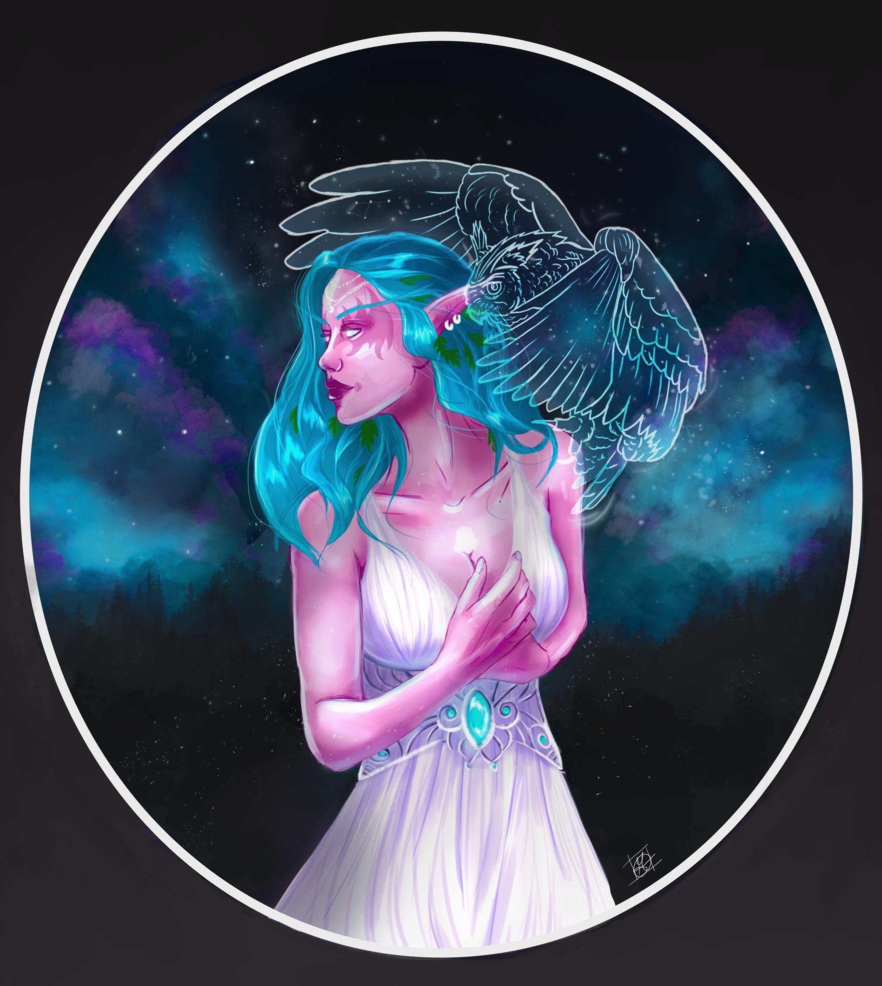 Tyrande Whisperwind by MissMorinth