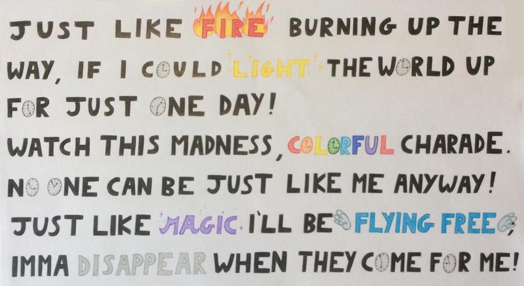 Lyric like this lyrics : Just Like Fire (P!nk) - lyrics by PnFlover98 on DeviantArt