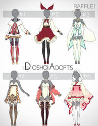 Adopt {2}: Outfit Designs Auction [Closed+winner!] by DoshoiAdopts