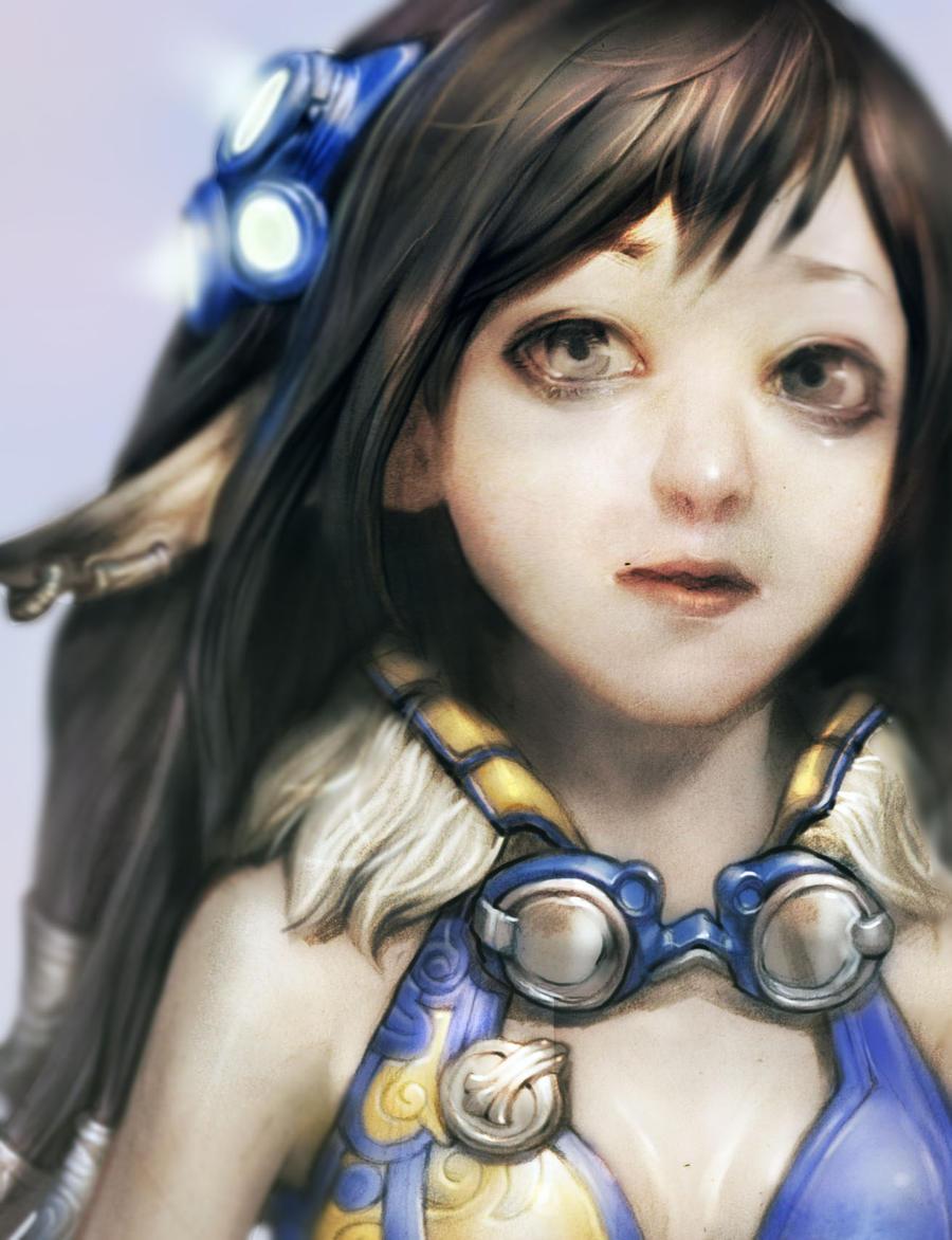 elf girl by rabbiteyes
