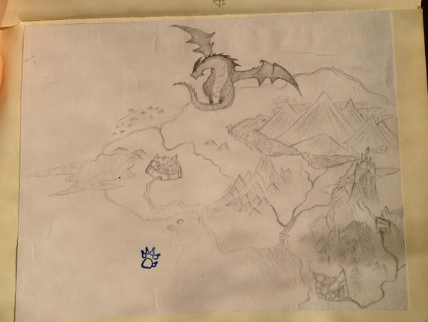 Final Fantasy XIV World Map by Frost8Paw on DeviantArt
