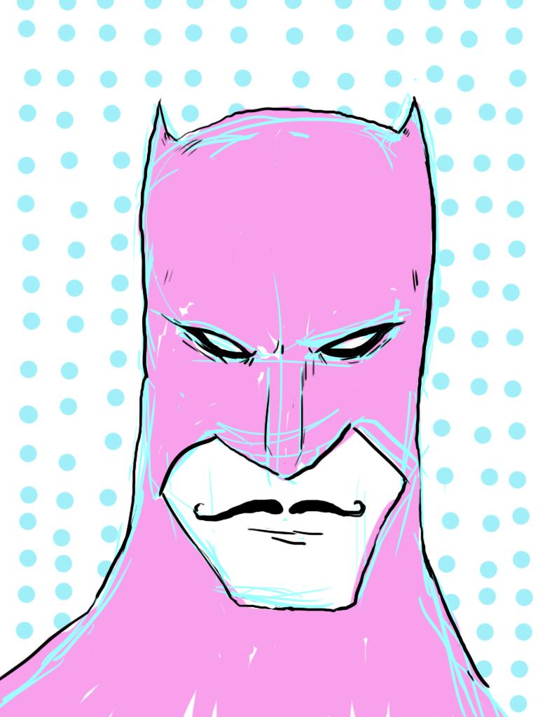static pink batman - photo #18