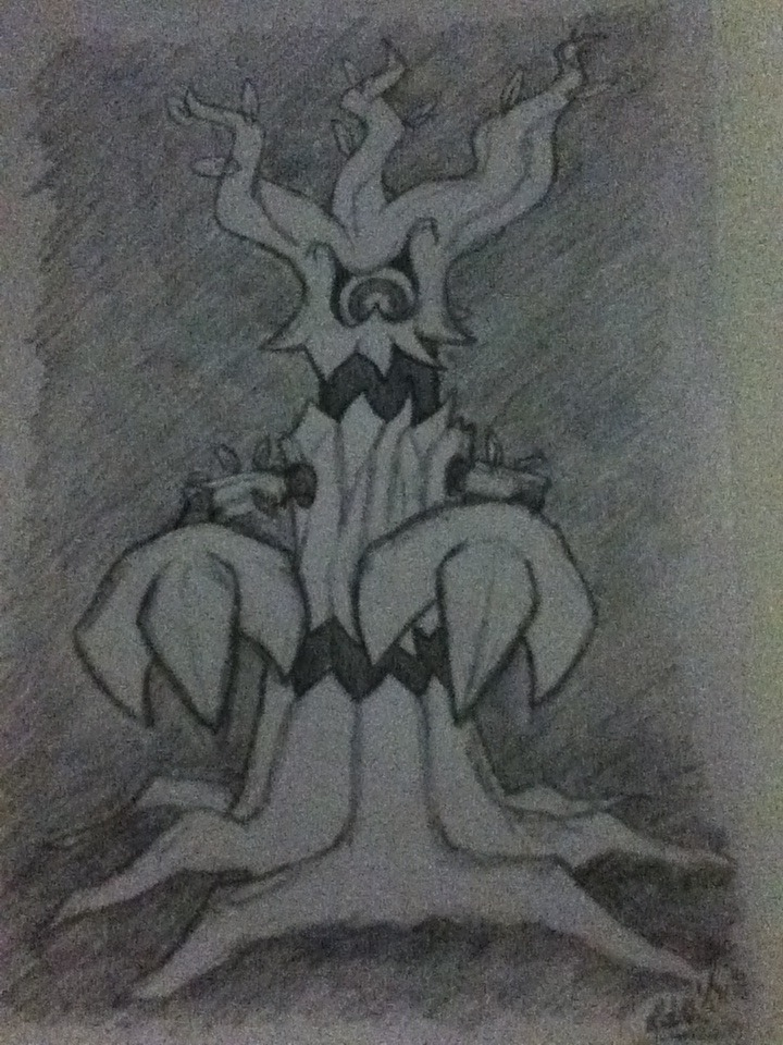 Trevenant by Dragon-princess08